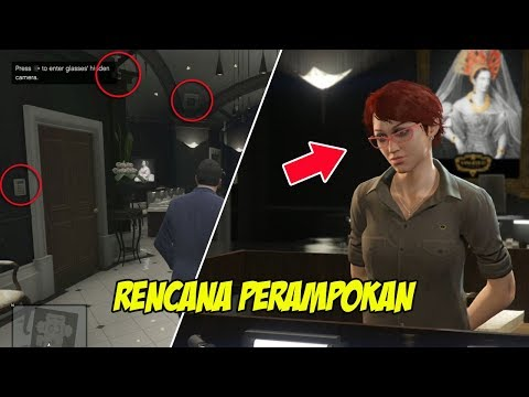 MENGINTAI TOKO BERLIAN | GTA 5 MISI 10 : CASING THE JEWEL STORE | PC