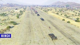 GTA 5 - $50 MILLION ARMED VEHICLES VS RAMP CAR - Hindi/Urdu