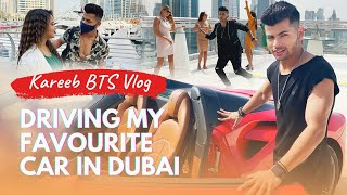 Drive My Favourite Car In Dubai | Kareeb BTS Vlog | Siddharth Nigam