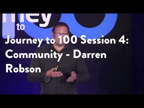 Journey to 100 Session 4: Community - Darren Robson [Functional Forum]