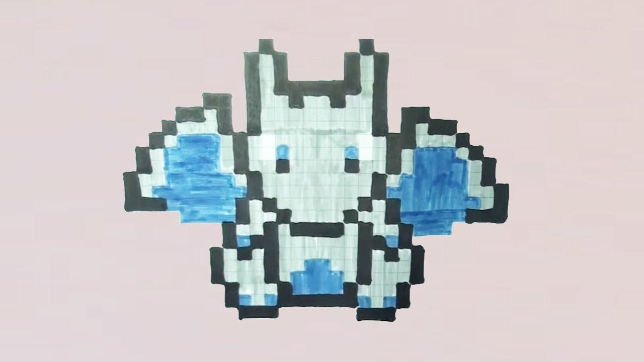 Comment Dessiner Mega Dracaufeu Pixel Art