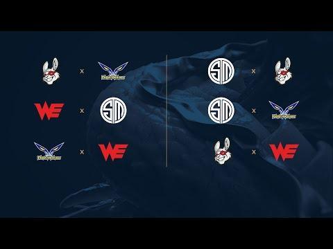 Campeonato Mundial de League of Legends 2017 - Fase de Grupos - Día 7