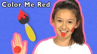 Color Me Red + More | Mother Goose Club Playhouse Songs & Rhymes