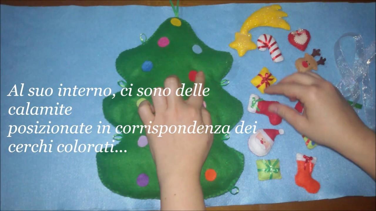 Lavoretti Di Natale Handmade.Albero Di Natale In Pannolenci Per Bambini Creazioni La Fata Dell Isola Handmade In Sicily