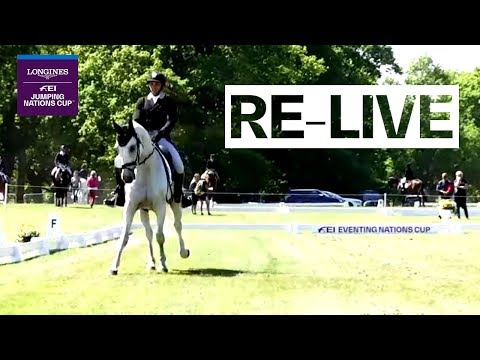 LIVE 🔴 | Dressage Pt. 2 | Houghton Hall (GBR) | FEI Eventing Nations Cup™