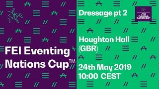 LIVE 🔴 | Dressage Pt. 2 | Houghton Hall (GBR) | FEI Eventing Nations Cup™ thumbnail