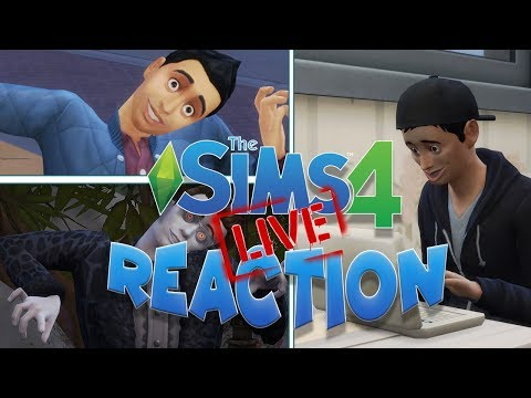 NUOVO GAME PACK DI THE SIMS 4? REACTION IN LIVE! thumbnail
