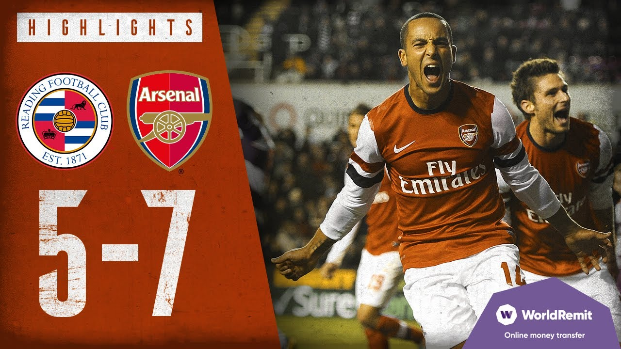 THE CRAZIEST MATCH EVER! | Reading 5-7 Arsenal | Classic highlights | 2012