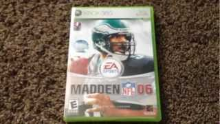 Madden NFL 06 For Xbox 360 Unboxing!!!!