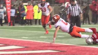 Illinois Football Highlights at Ohio State 11/18/17