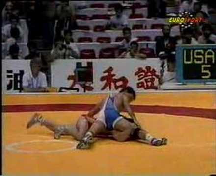 Wrestler John Smith