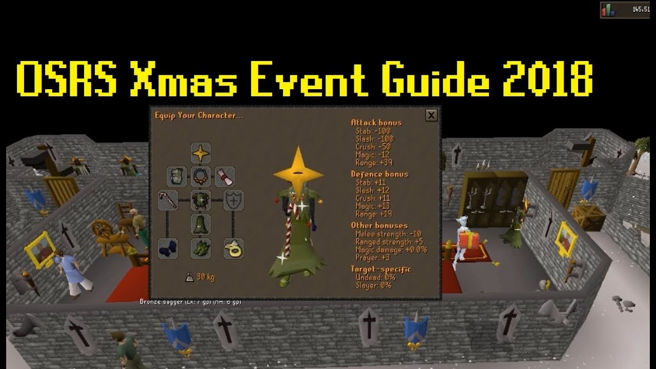 OSRS Christmas Event Guide 2018 (Fast Guide)   YouTube