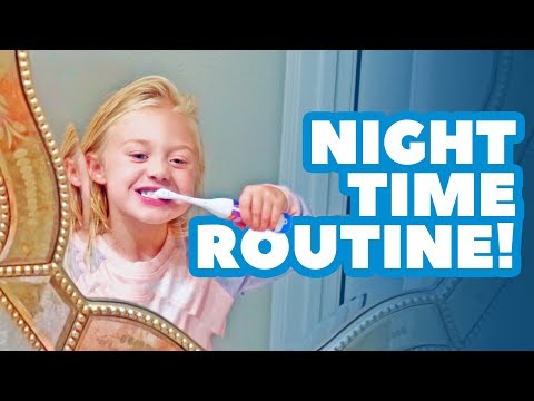 Everleighs BACK TO SCHOOL night time routine!!!