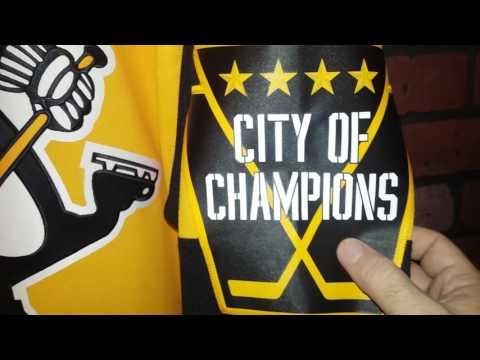 2016.17 Pittsburgh Penguins Retail Reebok Hockey Jersey's