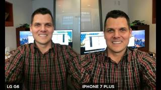 LG G6 vs Iphone 7 Plus - Camera Comparison