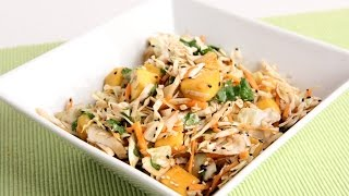 Asian Inspired Mango Slaw Recipe
