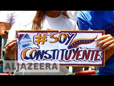 Venezuelan government plans to rewrite constitution