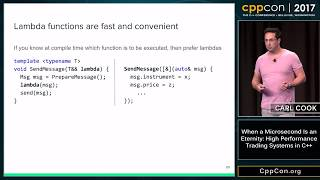 """Video CppCon 2017: Carl Cook """"When a Microsecond Is an Eternity: High Performance Trading Systems in C++"""" download MP3, 3GP, MP4, WEBM, AVI, FLV November 2018"""