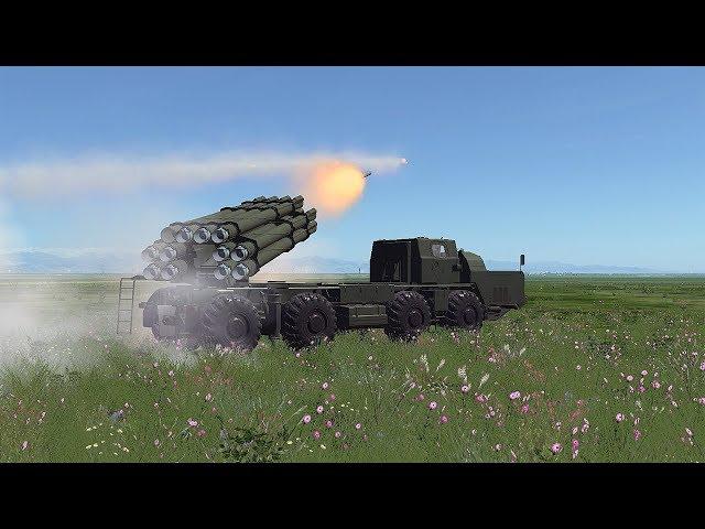 DCS: Pháo phản lực BM-30 Smerch - Cơn lốc Nga.