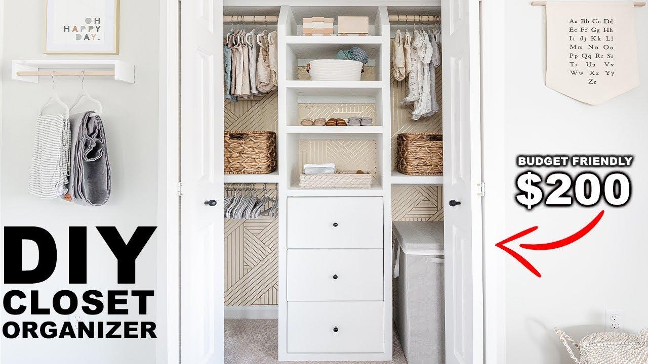 Diy Built In Closet Organizer You