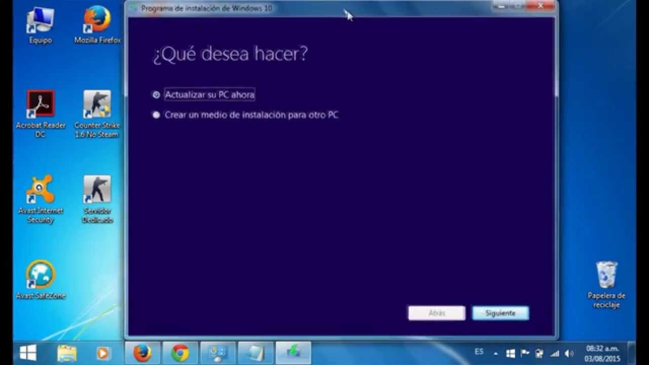 Forzar Actualización A Windows 10 De Manera Oficial Y 100 Segura
