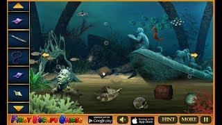 Underwater Treasure Escape 3 walkthrough FEG.