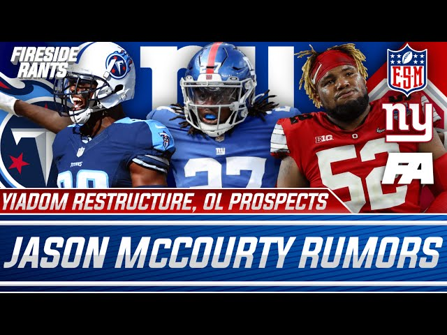 New York Giants   Jason McCourty Rumors   Isaac Yiadom Restructures   OL Options In The 2nd Round