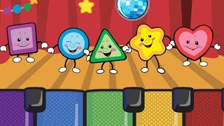 Learn Colors for Kids | Learn Colors with Color Piano, Color Song, Color Cards and Fruits