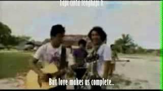 Nidji -Rainbow Squad (Laskar Pelangi)- English Subtitle