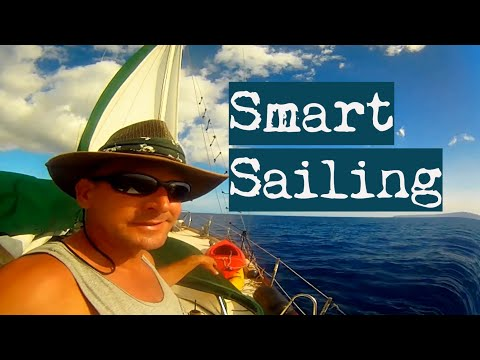 No GPS Sailing Solo the World | Ancient Sailing Navigation across Pacific SV Aulani Aloha 12