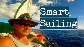 Sailor Solo, no GPS navigation | Sailing across Pacific | How to Navigate by Stars - SV Aulani Aloha
