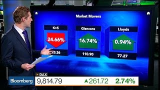 Euro Market Movers: K+S, Glencore, Lloyds