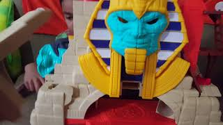 Imaginext Serpent Strike Pyramid Review and Un Boxing