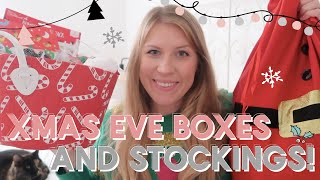 WHAT'S IN MY KIDS CHRISTMAS EVE BOXES AND STOCKINGS   VLOGMAS DAY 20