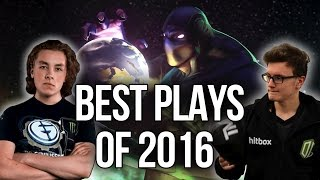 BEST Plays of 2016 - Dota 2