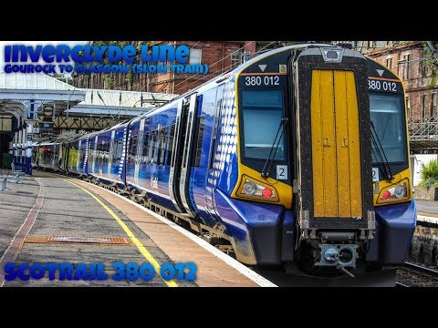 Riding Class 380 012 From Gourock To Glasgow Central (Slow Train)