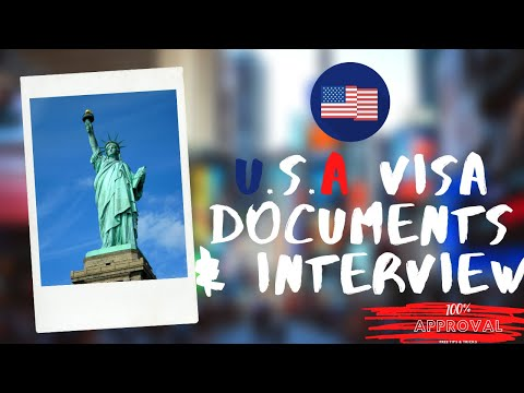 USA Visa Documents And Interview On Pakistani & Indian Passport | PART 2 | URDU/HINDI