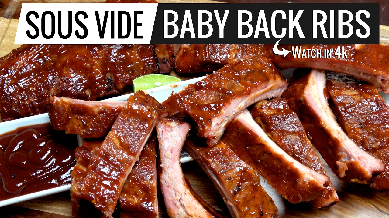 sous vide baby back ribs the best ever period perfection. Black Bedroom Furniture Sets. Home Design Ideas