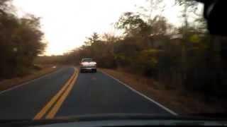 Montes Claros x Itacambira - Parte 4 - MG 308 - Passando pelo trevo de Glaucilândia