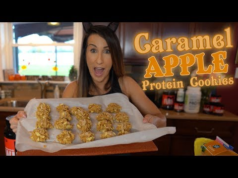 Caramel Apple Protein Cookies | Tiger Fitness
