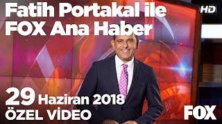 Eski CHP Milletvekili Eren Erdem tutuklandı! 29 Haziran 2018 Fatih Portakal ile FOX Ana Haber