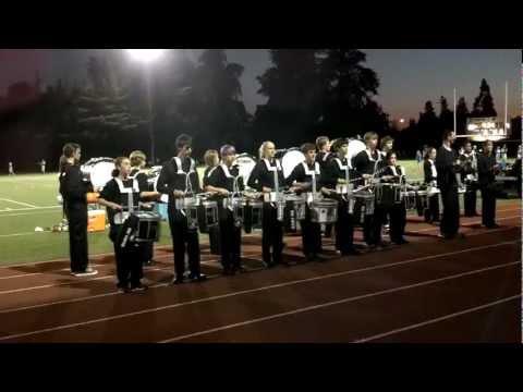Corvallis High School Drumline Show 2012