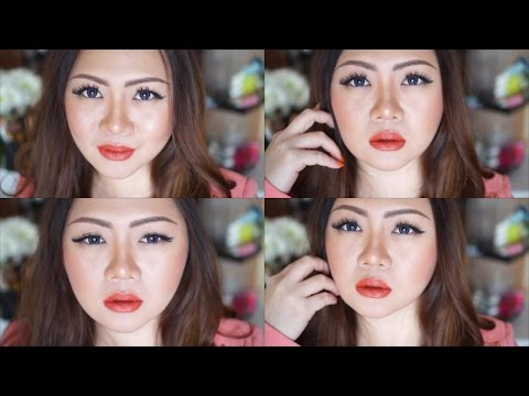 basic---natural-eyes-makeup-with-a-pop-of-orange-lips-|-bahasa-|-indonesia