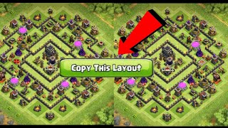 HOW TO COPY SOMEONE BASE LAYOUT EASILY IN COC 😎😎 ! ll