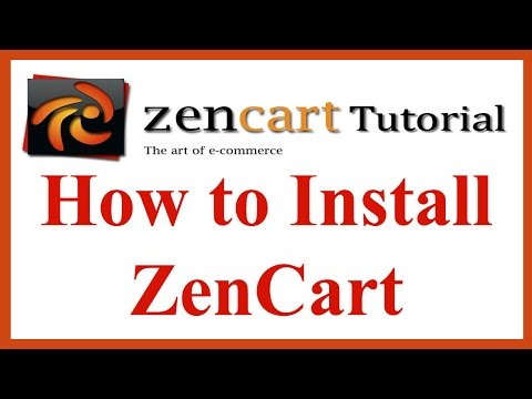 How to Install ZenCart in 10 min