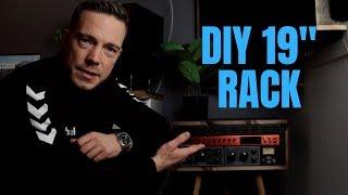 "How to DIY build a 19"" rack"