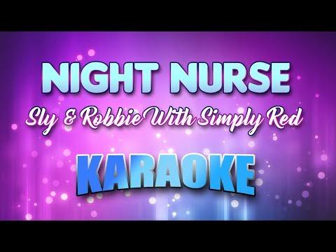 Sly & Robbie With Simply Red - Night Nurse (Karaoke version with Lyrics)