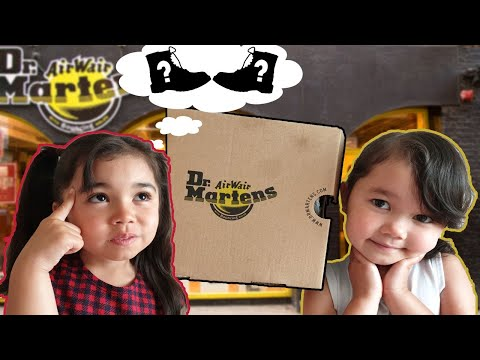 ✅ First Impressions Of Dr. Martens Boots - Kids Edition With Isla & Bella.