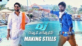 Allu Arjun DJ Duvvada Jagannadham Making Stills | Harish Shanker | Pooja Hegde | Dil Raju | DSP