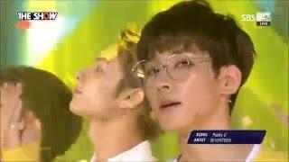 [繁中字/Eng] SEVENTEEN - Pretty U 160503 (Live)